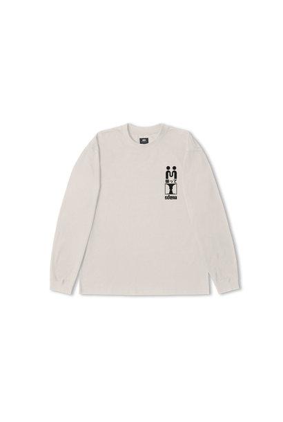 Supply Long-sleeve T-shirt Zilver Grijs