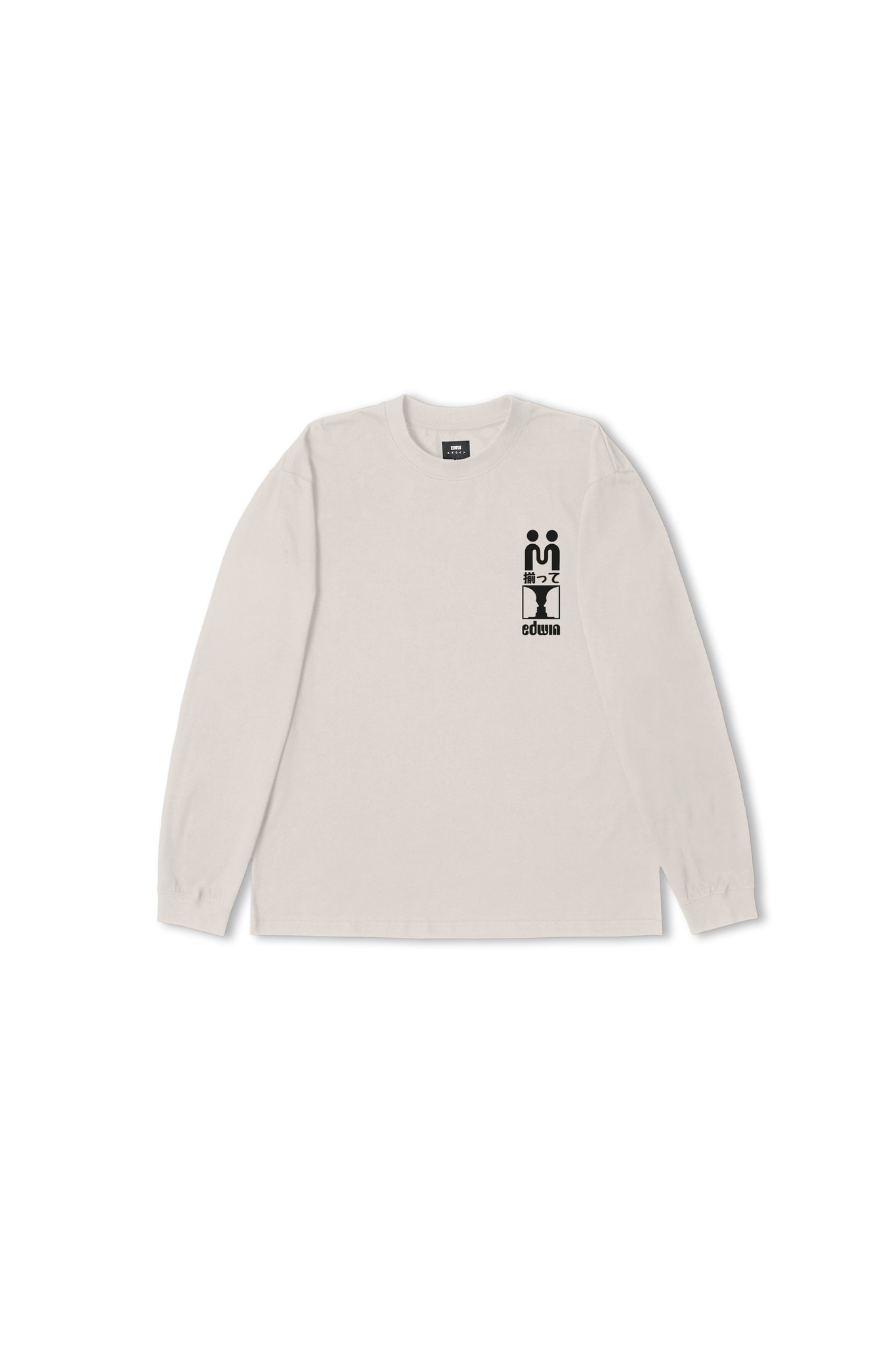 Supply Long-sleeve T-shirt Silver Grey-1