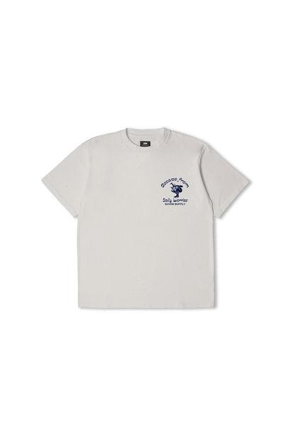 Keep It Surreal T-Shirt Zilver Grijs