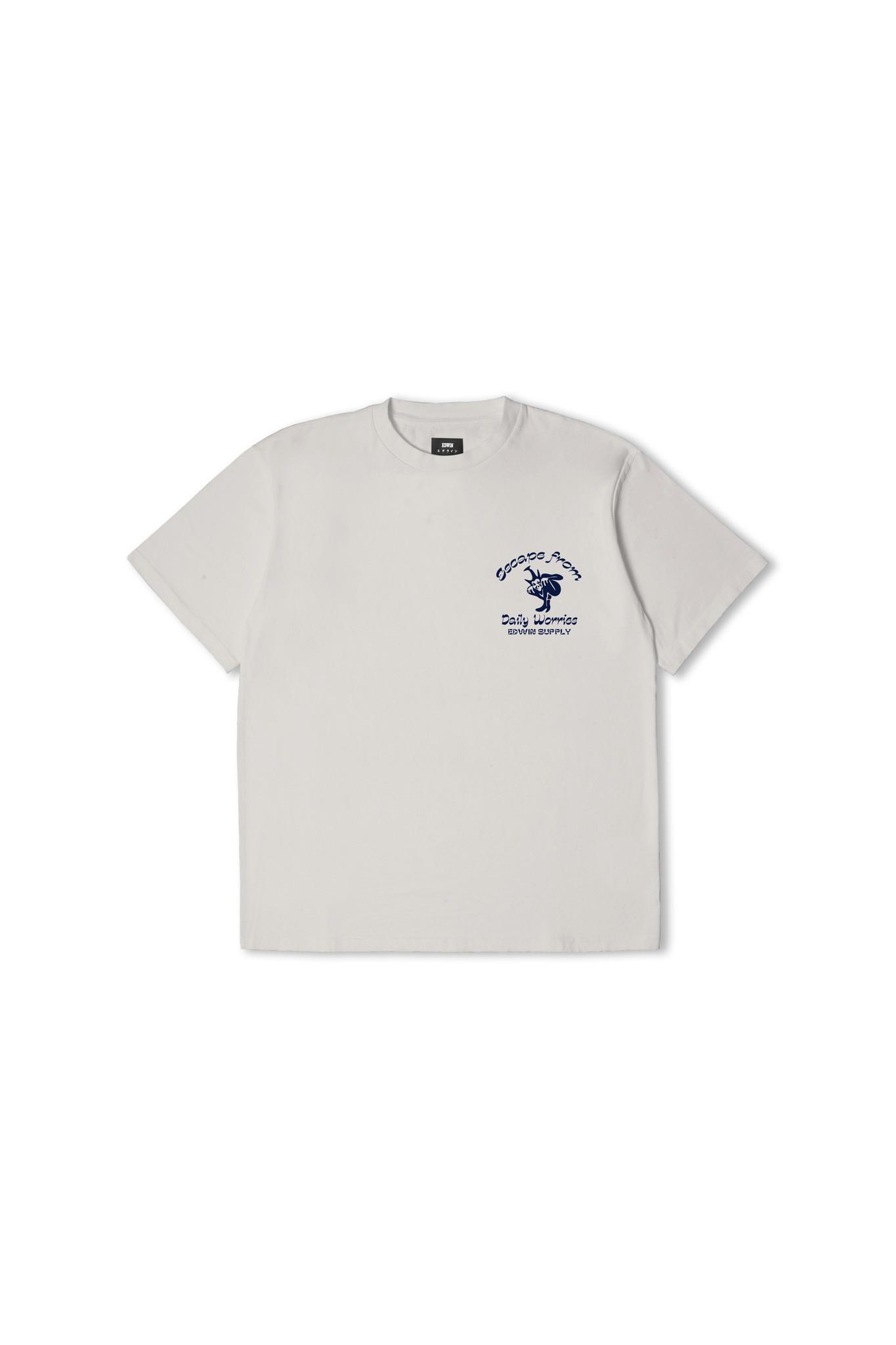 Keep It Surreal T-Shirt Zilver Grijs-1