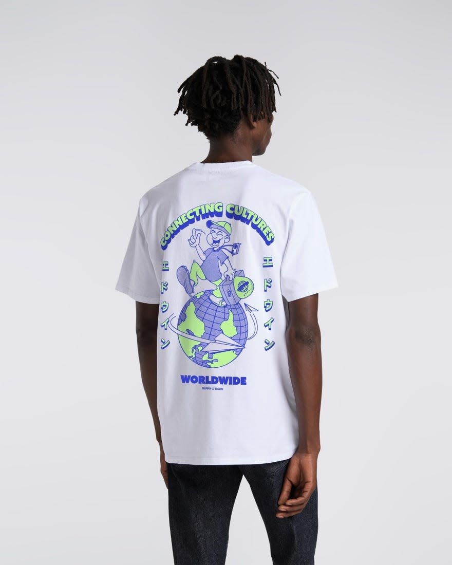 Tripping Limited T-shirt White-3