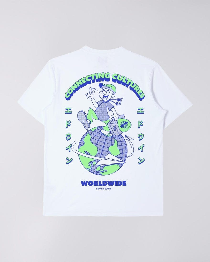 Tripping Limited T-shirt White-5