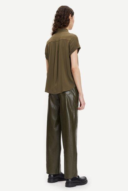 Majan Short Shirt Dark Green