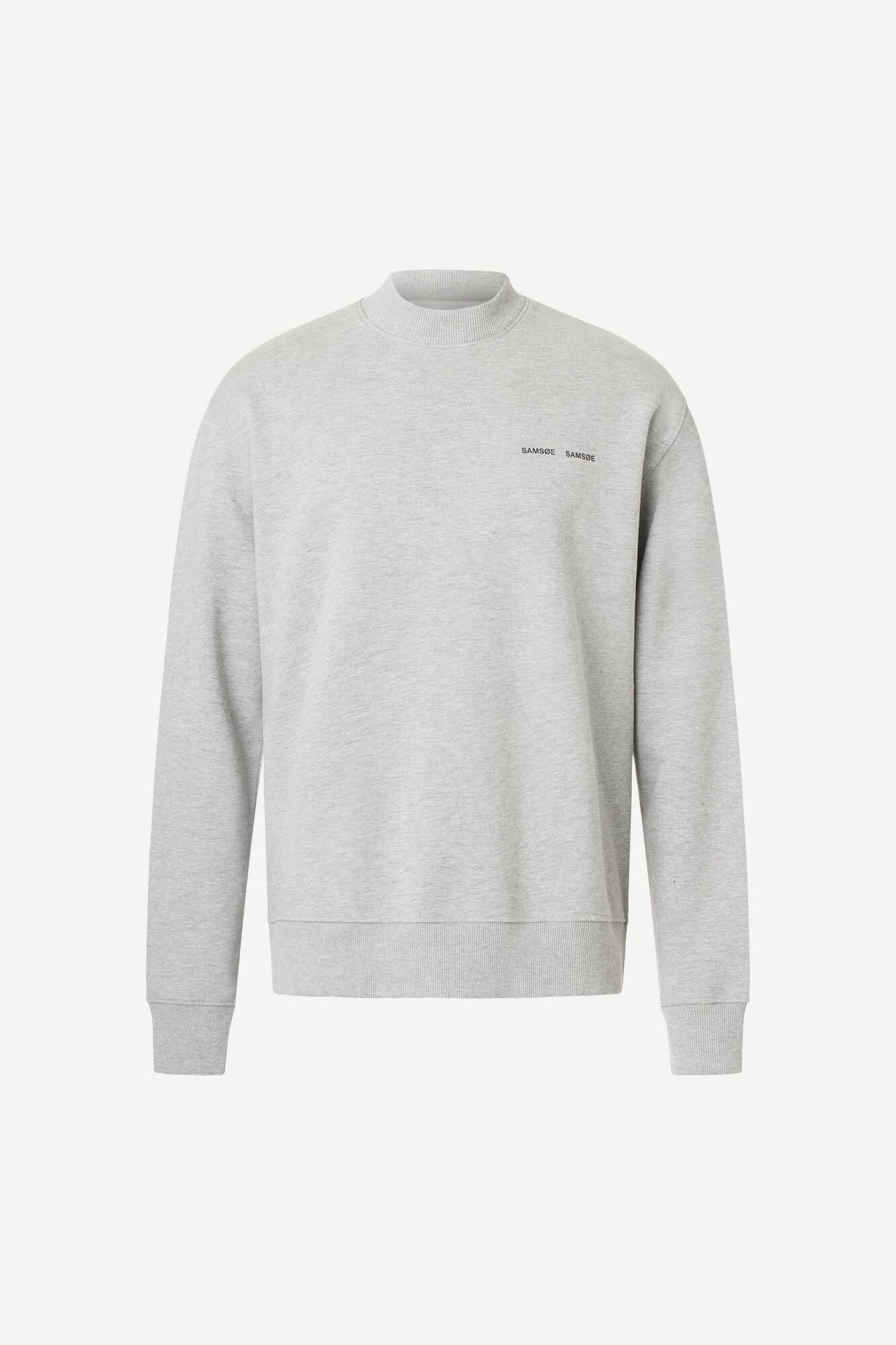 Norsbro Crew Neck Sweatshirt Grey-1