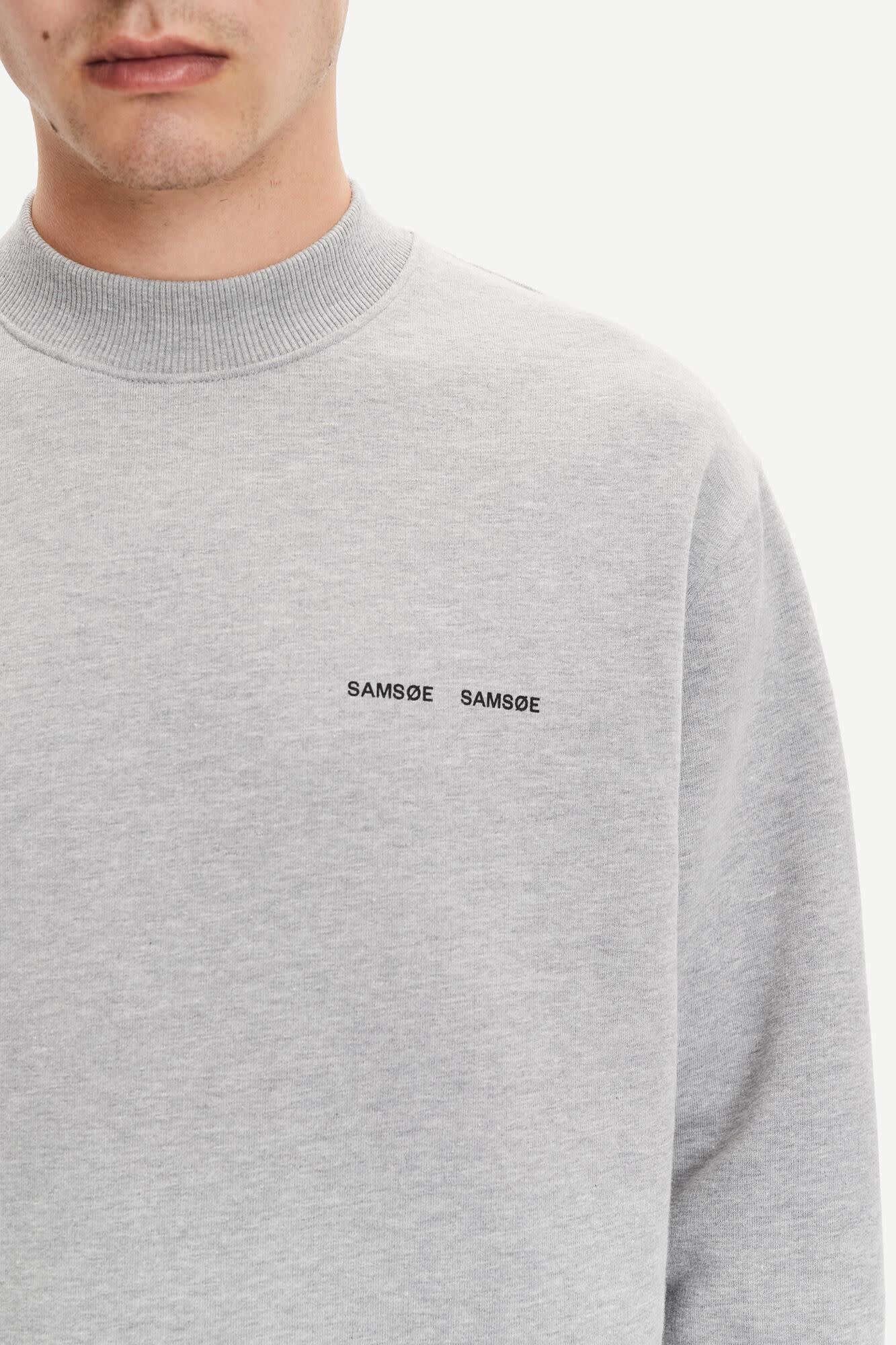 Norsbro Crew Neck Sweatshirt Grey-2