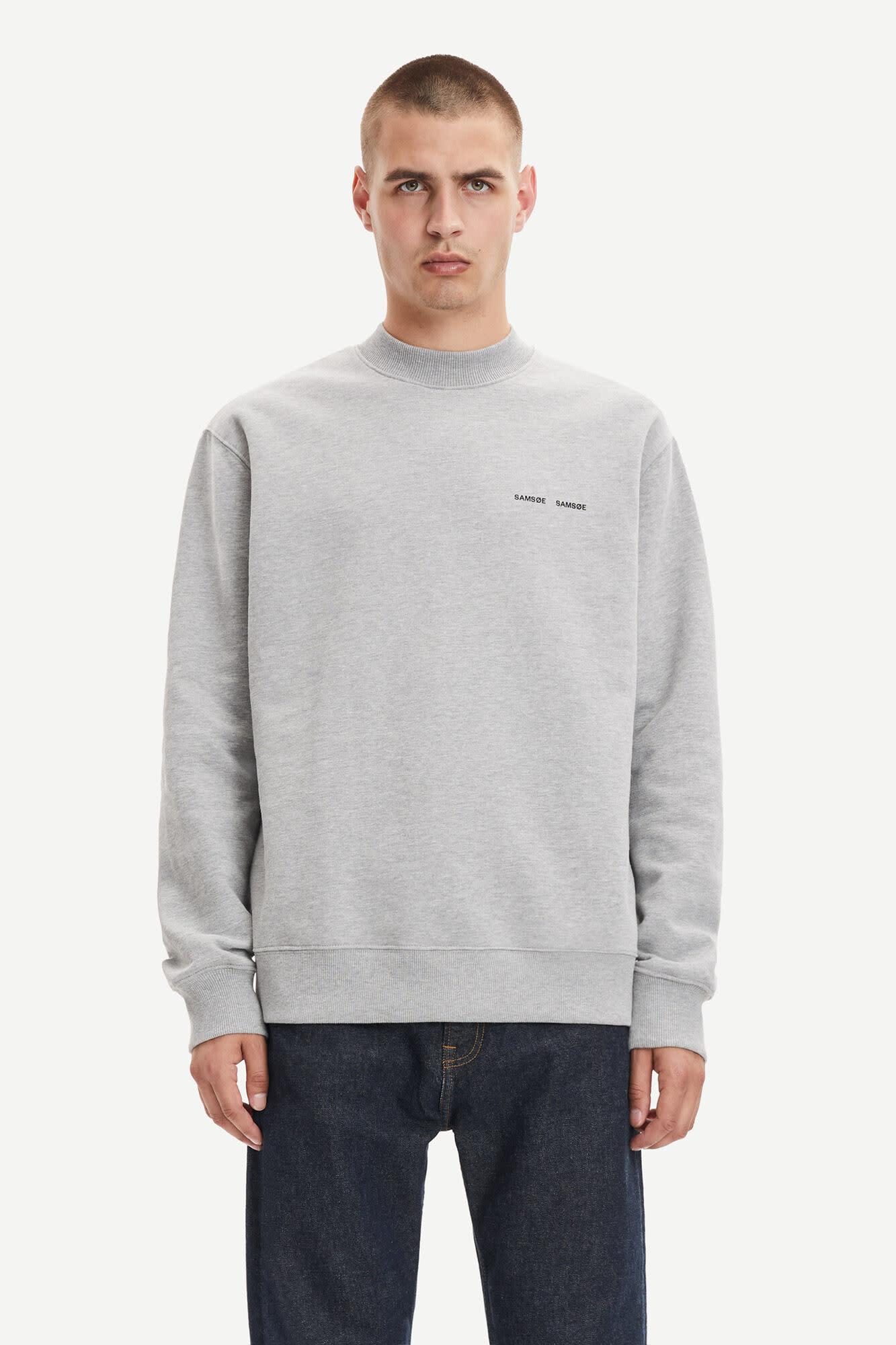 Norsbro Crew Neck Sweatshirt Grey-3