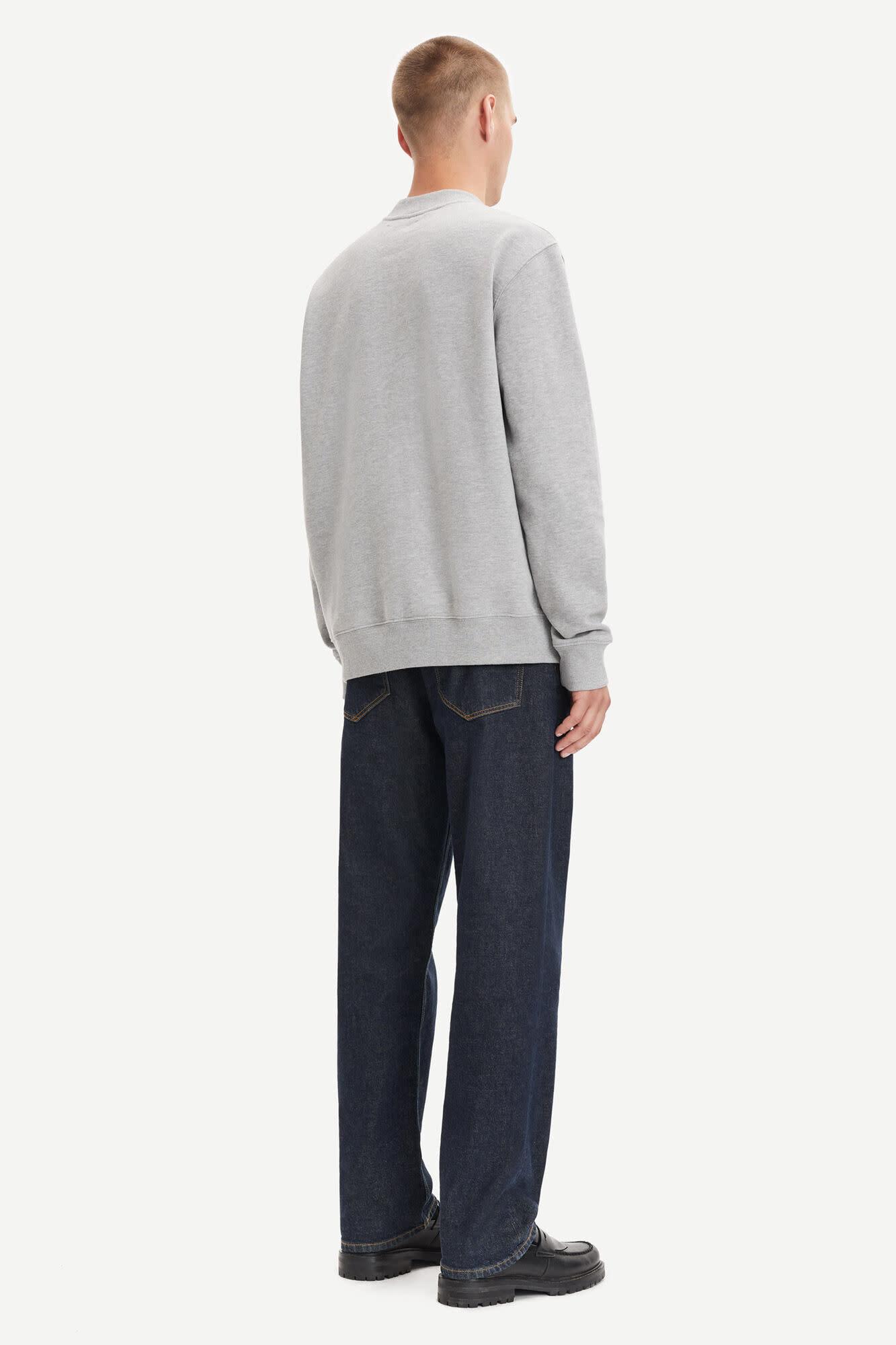 Norsbro Crew Neck Sweatshirt Grey-4