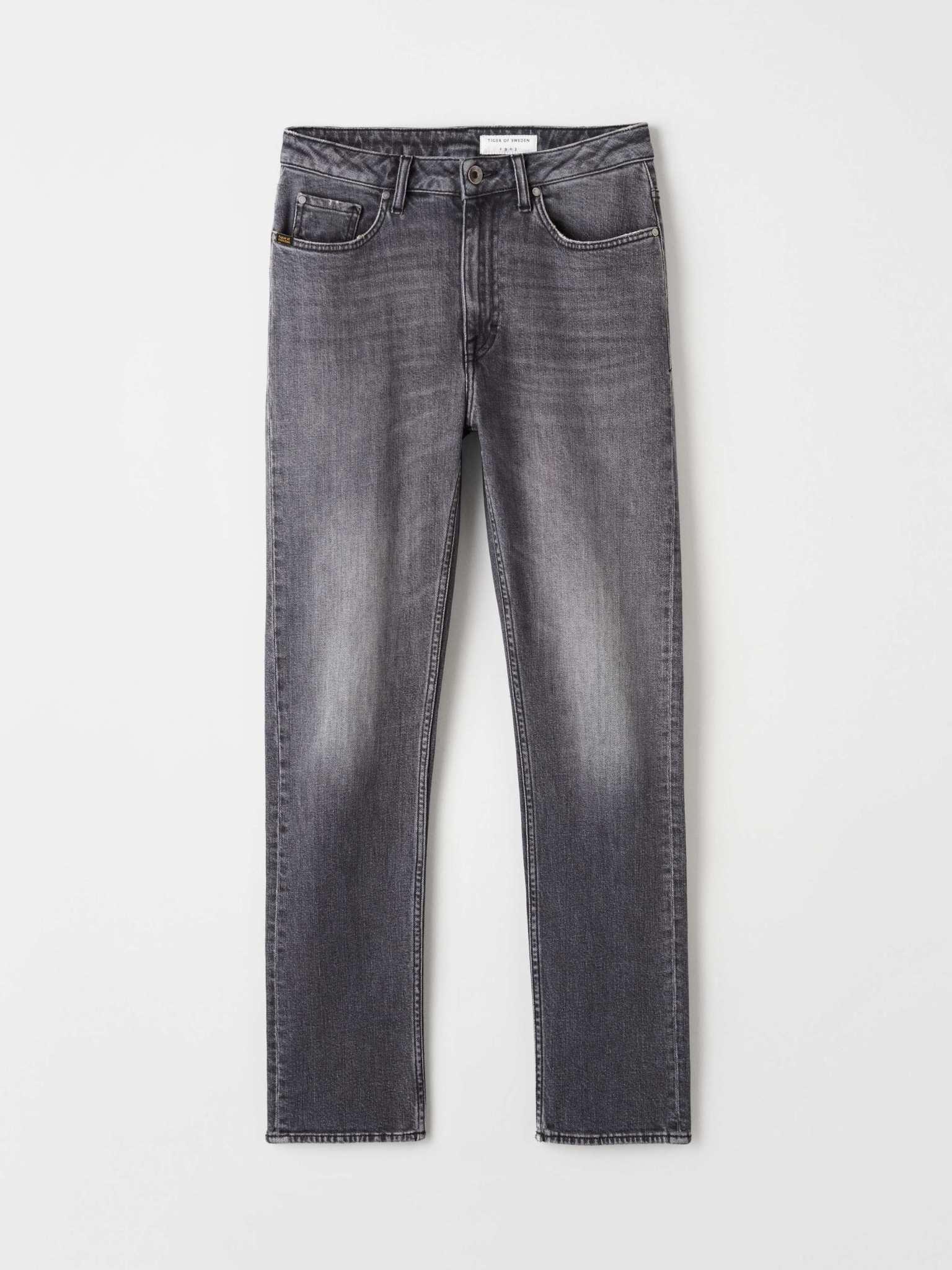 Meg Cropped Slim Zwart Grijze Jeans-1