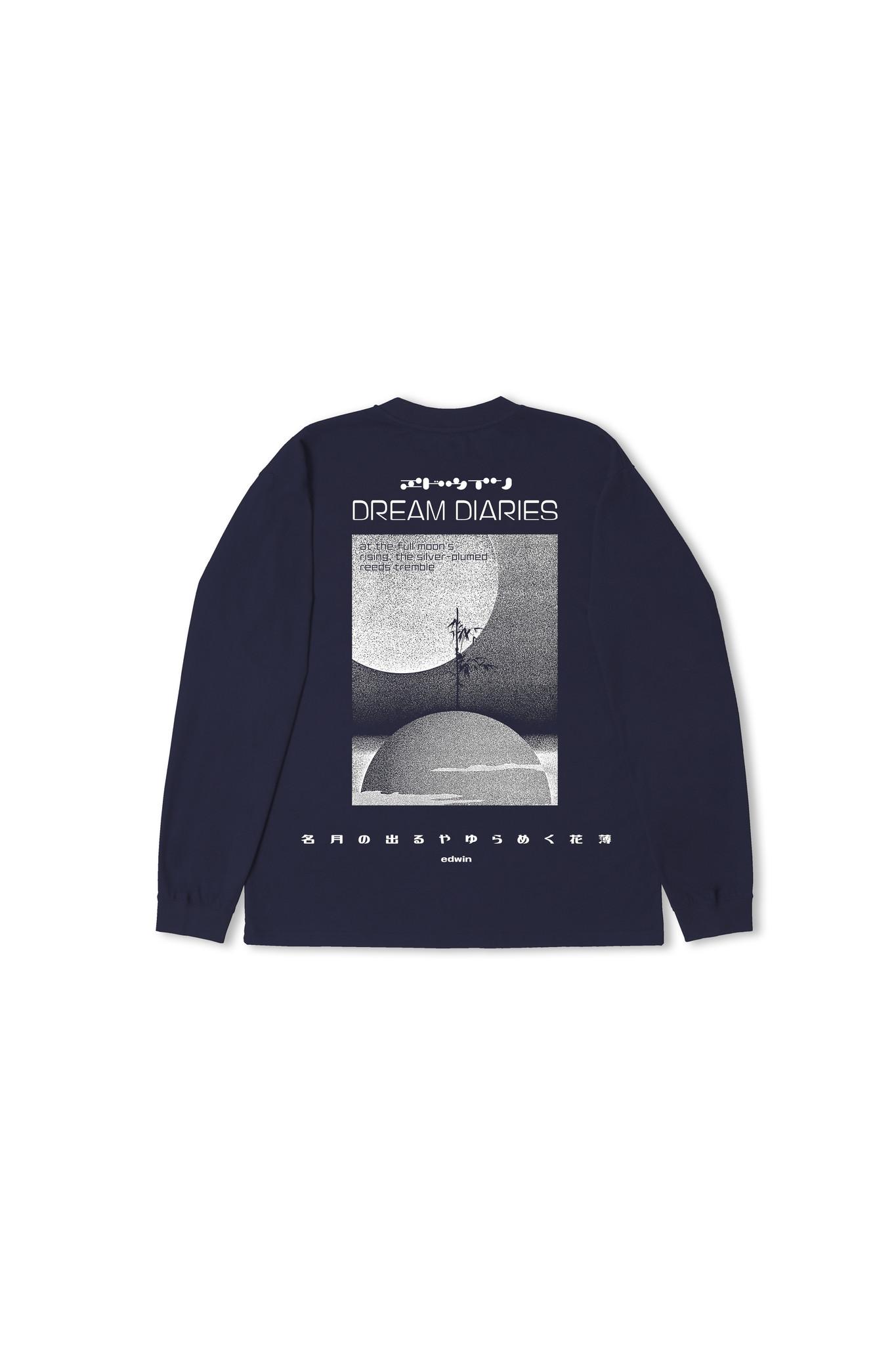 Dream Diaries T-shirt longsleeve Blauw-3