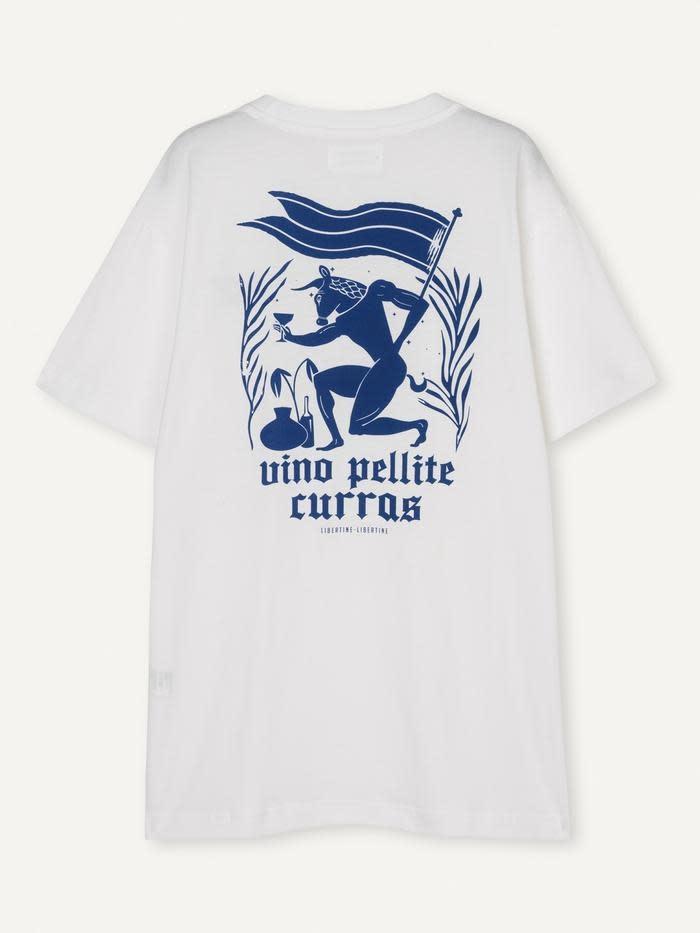 Beat Pellite T-Shirt White-2