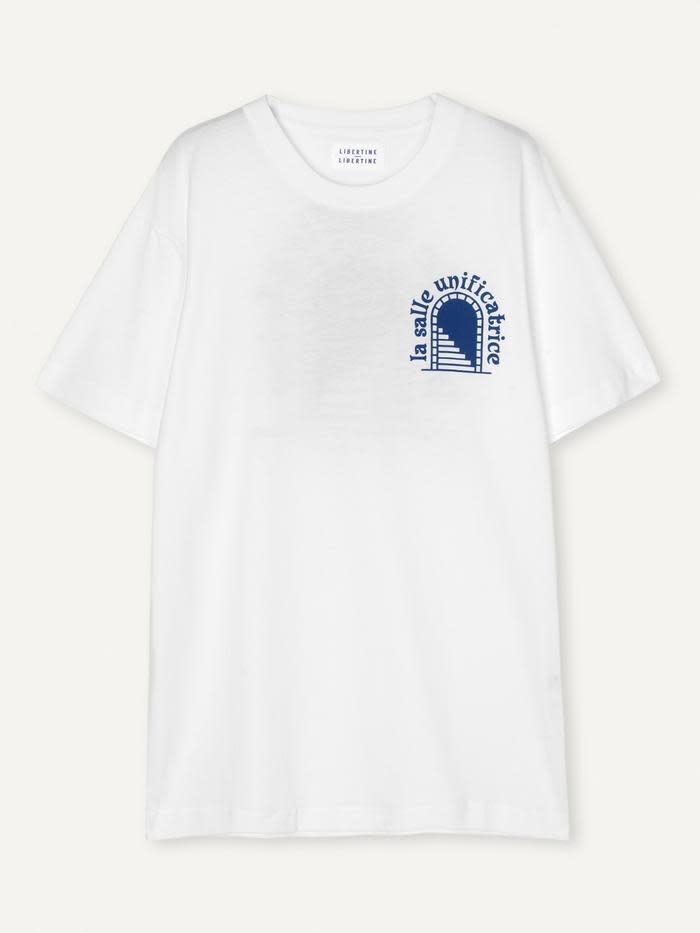 Beat La Salle T-Shirt White-2