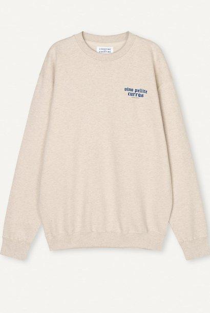 Society Pellite Sweatshirt Ecru White