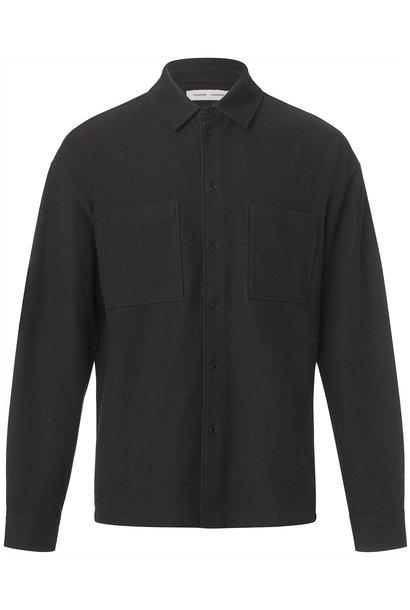 Poule Heavy Overshirt Black