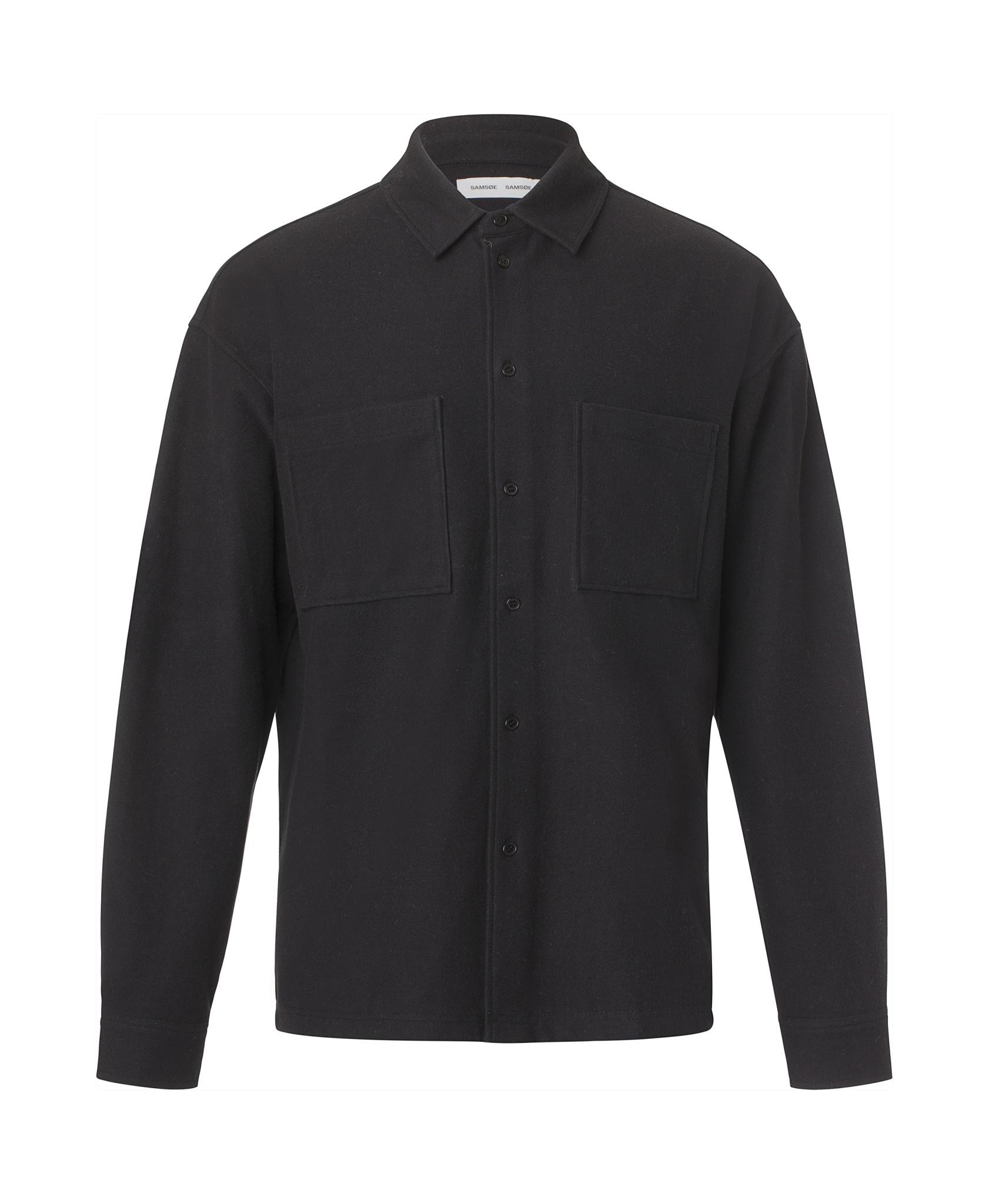 Poule Heavy Overshirt Black-1