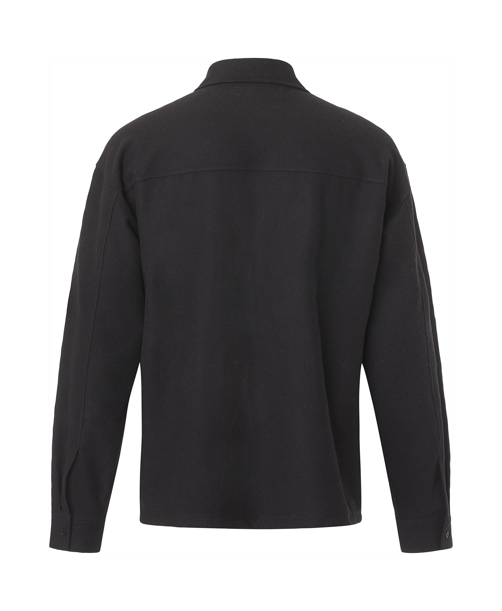 Poule Heavy Overshirt Black-3