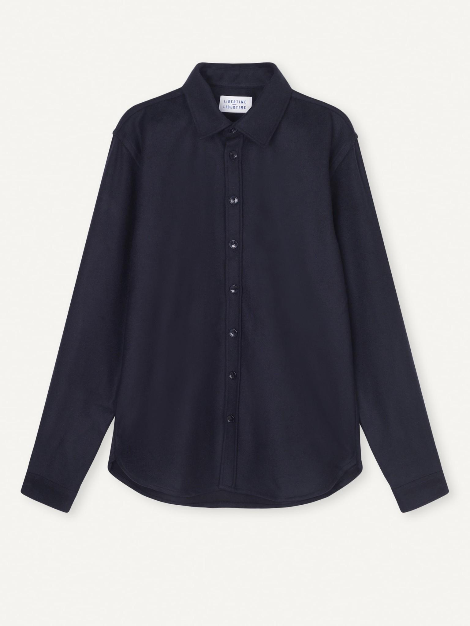 Babylon Donker Blauw Shirt Heren-1