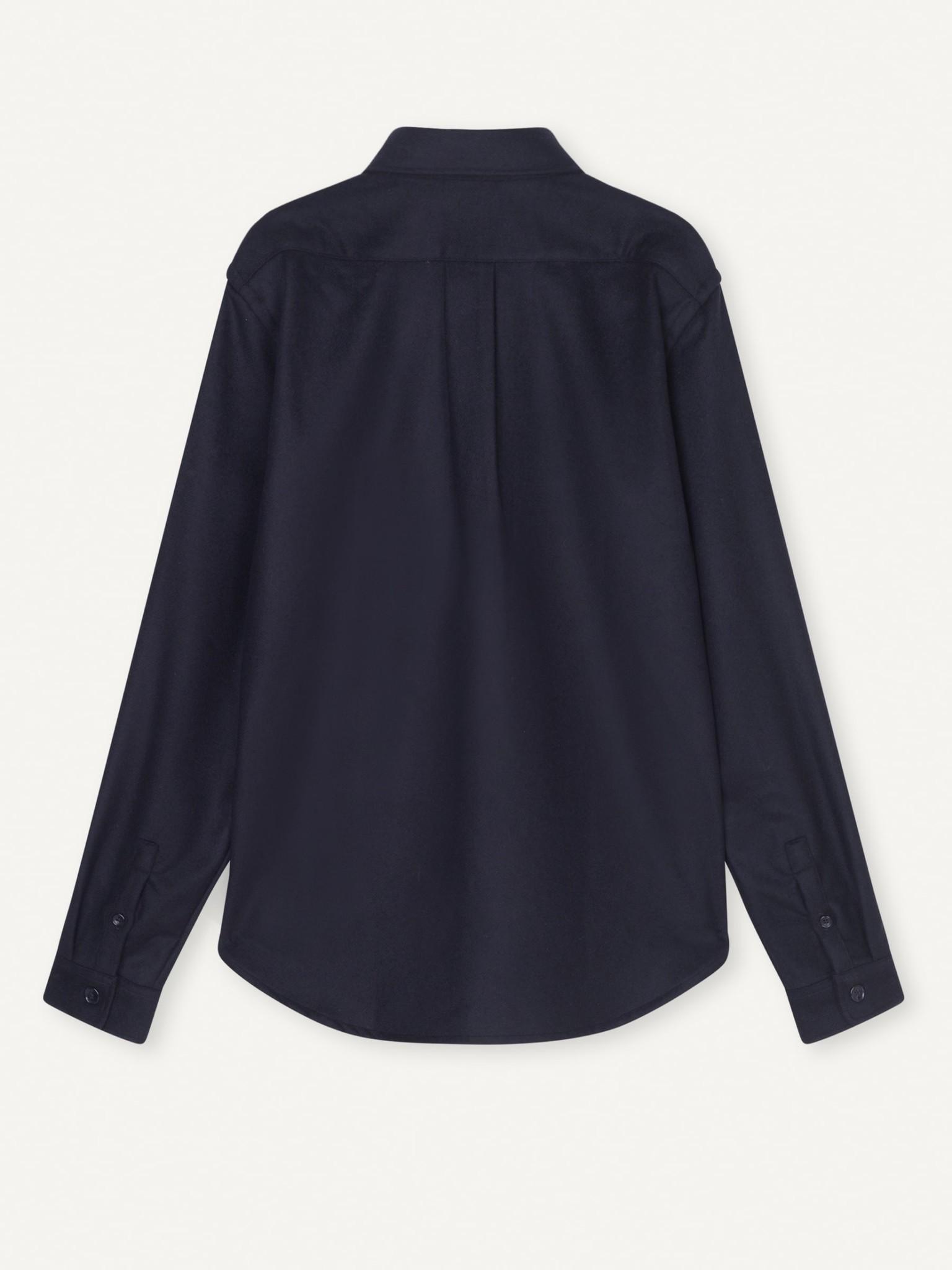 Babylon Donker Blauw Shirt Heren-3
