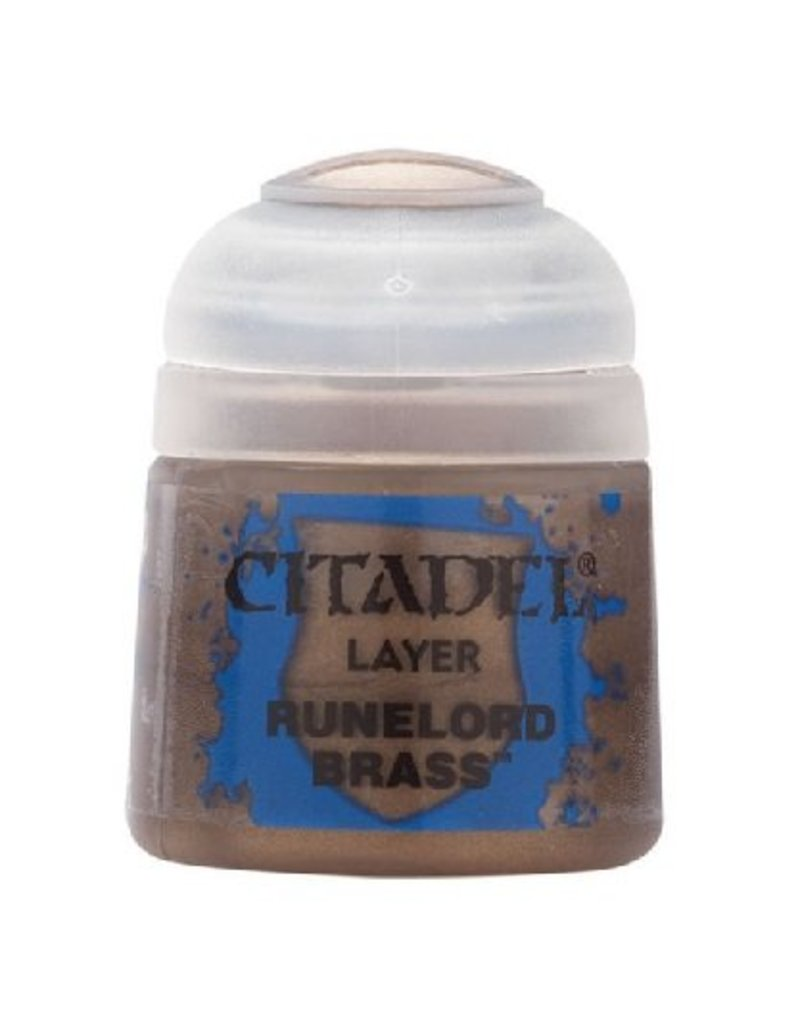 Citadel Layer: Runelord Brass 12ml
