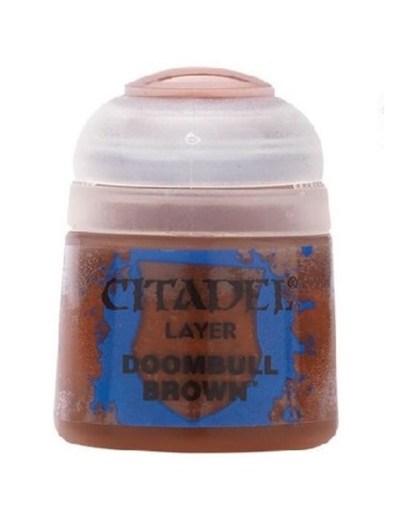 Citadel Layer: Doombull Brown 12ml