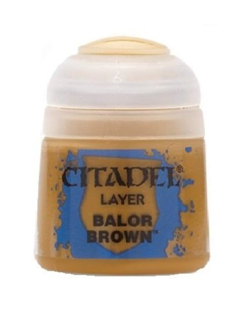 Citadel Layer: Balor Brown 12ml
