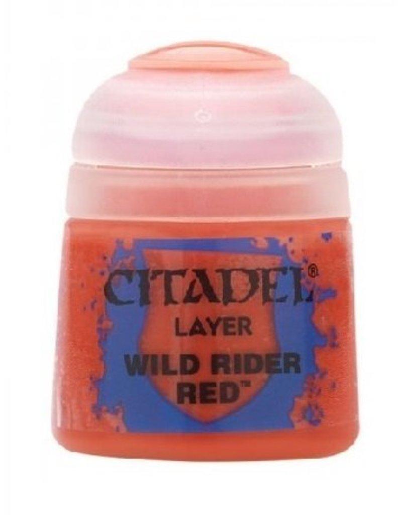 Citadel Layer: Wild Rider Red 12ml