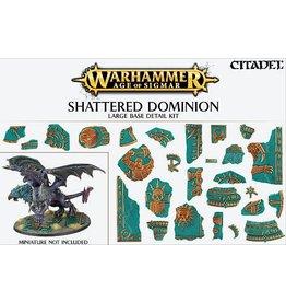 Citadel Shattered Dominion Large Base Kit