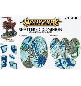 Citadel Shattered Dominion:  60 & 90mm Oval Base Kit