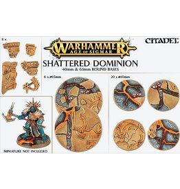 Citadel Shattered Dominion 65 & 40mm Base Kit