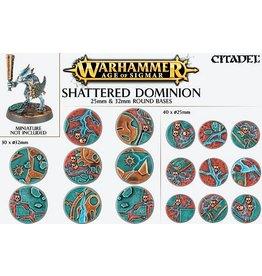 Citadel Shattered Dominion: 25 & 32mm Base Kit