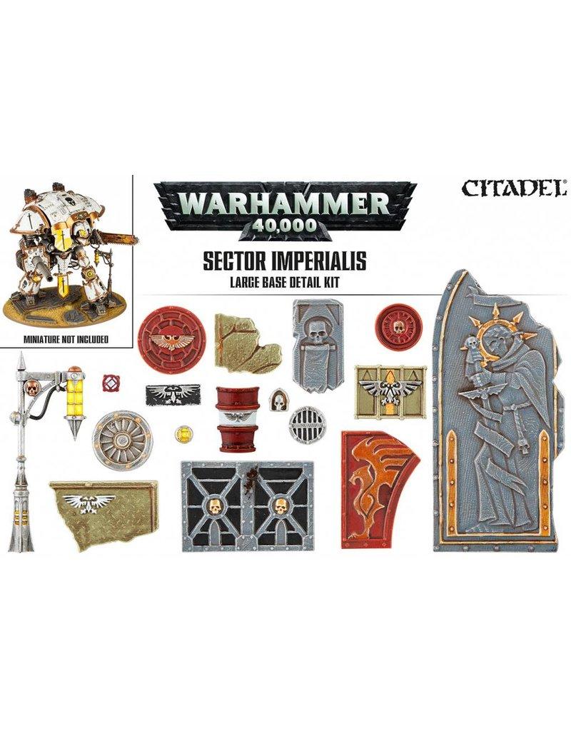 Citadel Sector Imperialis  Large Base Detail Kit
