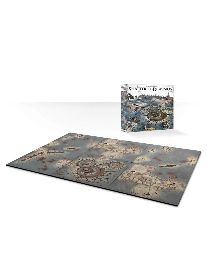 Citadel Realm Of Battle:  Shattered Dominion Scenery Tiles