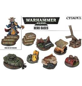 Citadel Warhammer 40k:  Hero Bases
