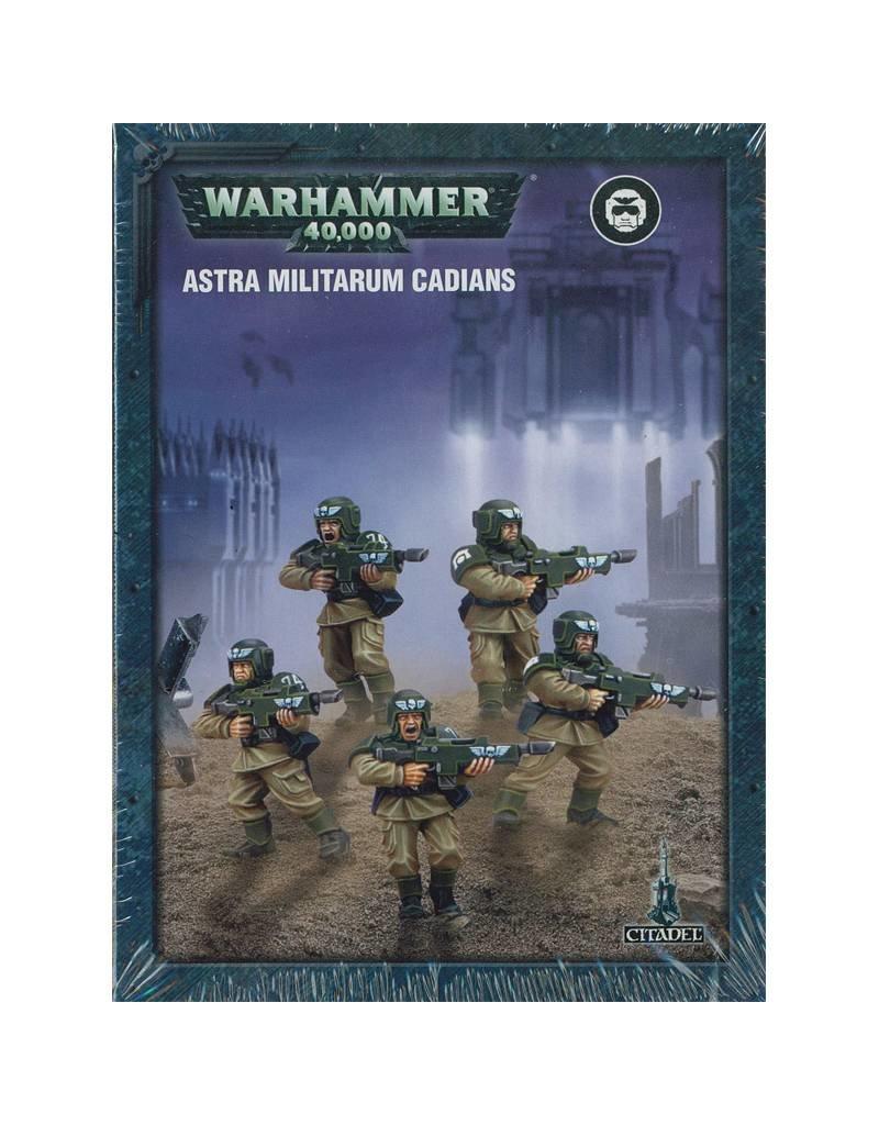 Games Workshop Push-Fit Astra Militarum Cadians