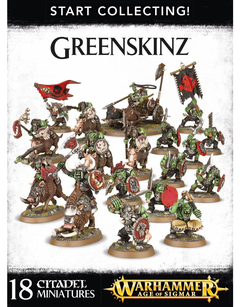 Games Workshop Start Collecting! Greenskinz Orruks