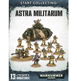 Games Workshop Start Collecting Imperial Guard