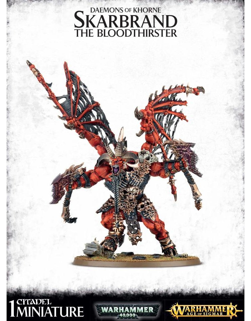 Games Workshop Chaos Daemons Skarbrand The Bloodthirster