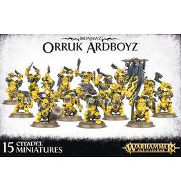Games Workshop Orruk Ardboyz
