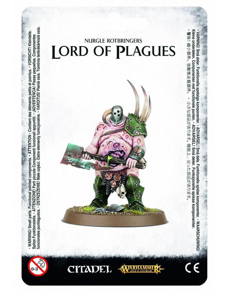 Games Workshop Nurgle Rotbringers Lord Of Plagues