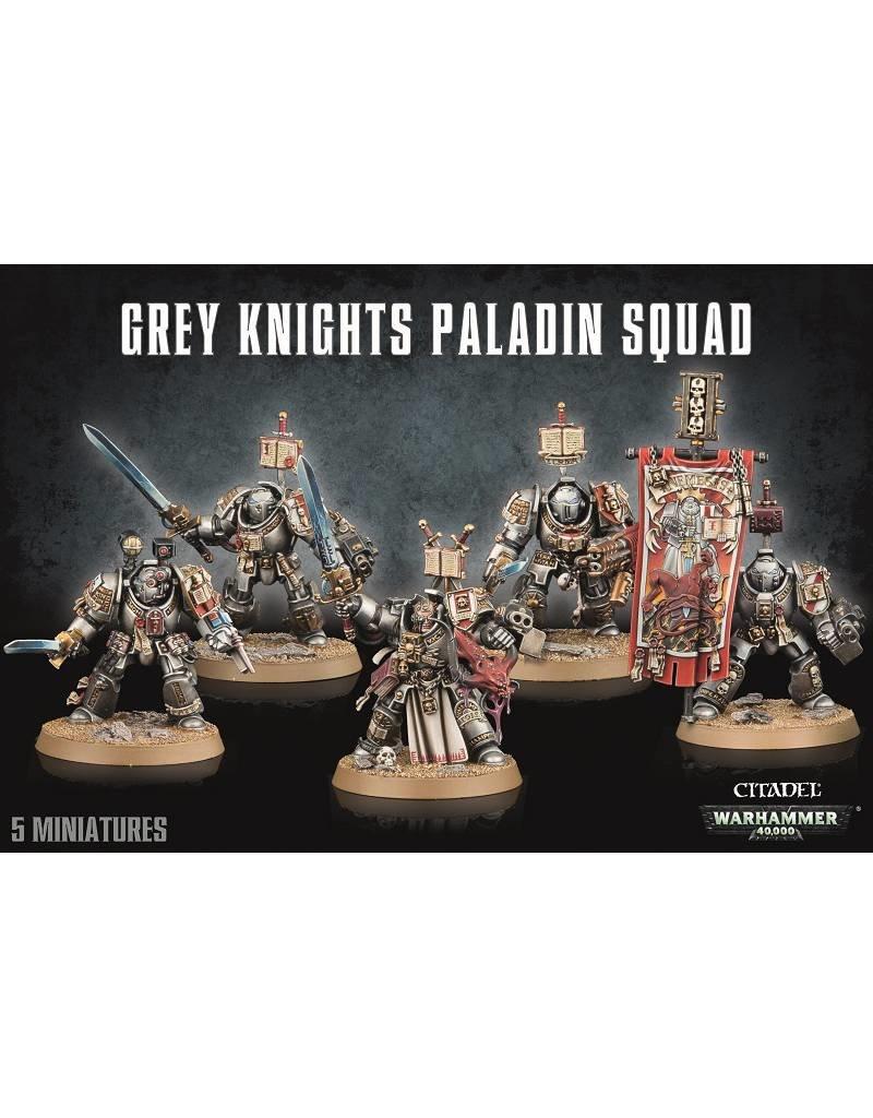Games Workshop Grey Knights Paladin Squad
