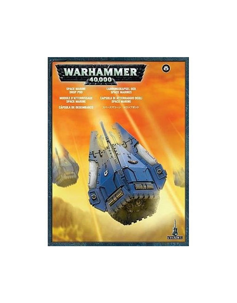 Games Workshop Adeptus Astartes Drop Pod