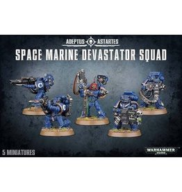 Games Workshop Space Marine Devastator Squad