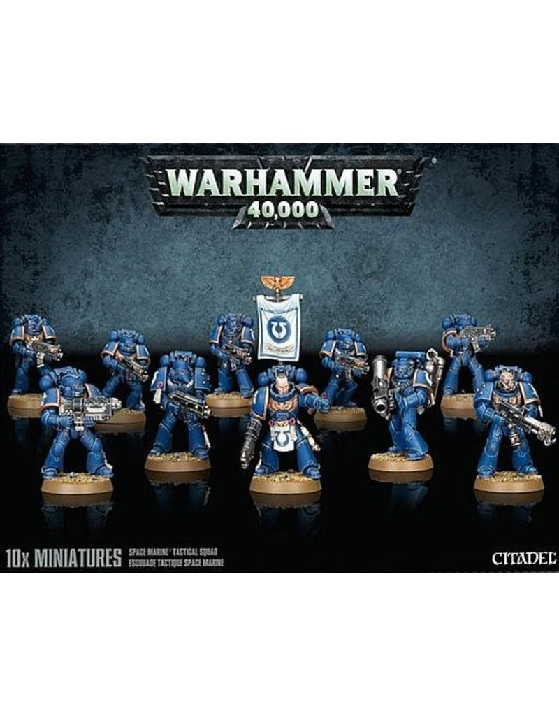 Games Workshop Adeptus Astartes Tactical Squad