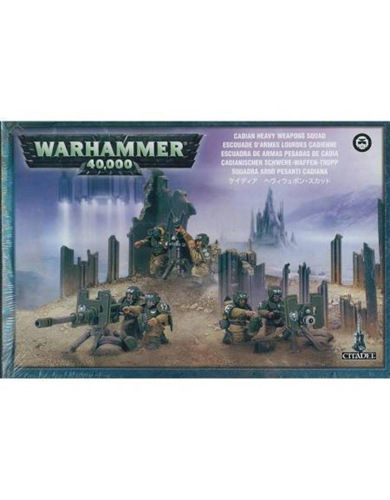 Games Workshop Astra Militarum Cadian Heavy Weapon Squad