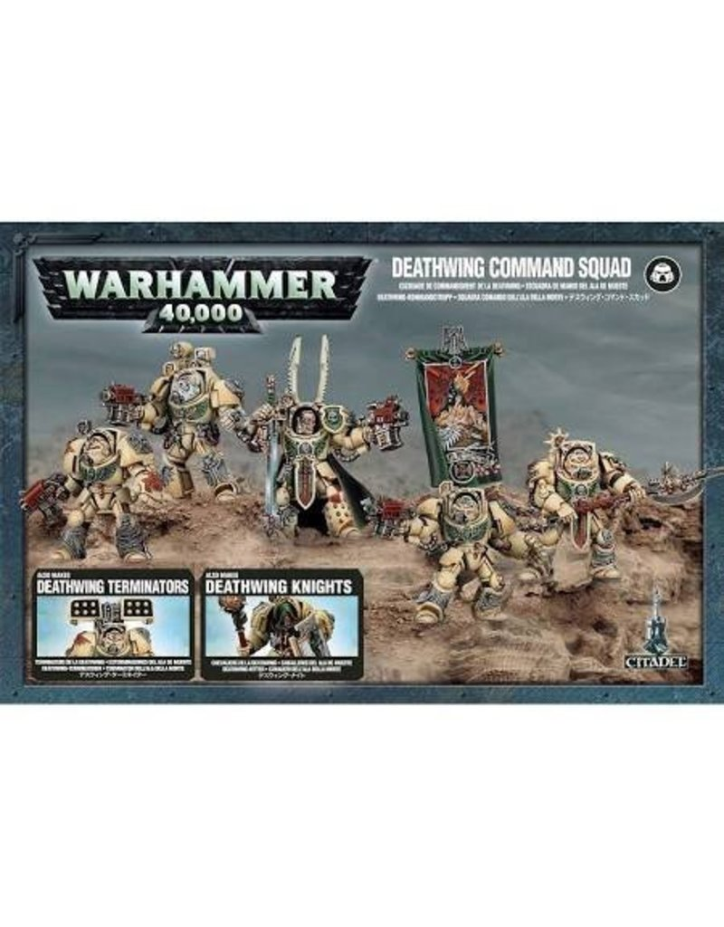 Games Workshop Space Marines Deathwing Command Squad