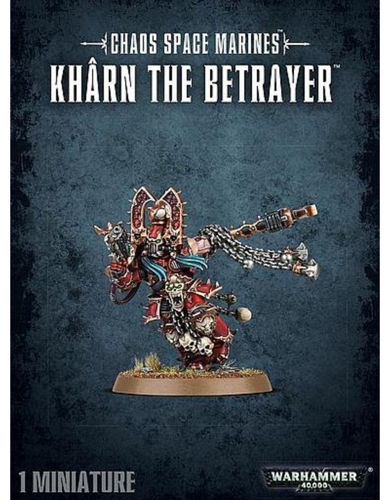 Games Workshop Heretic Astartes Kharn The Betrayer
