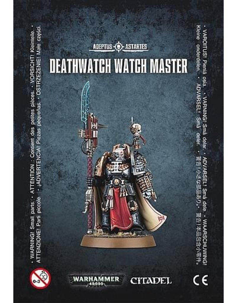 Games Workshop Space Marines Deathwatch Watch Master