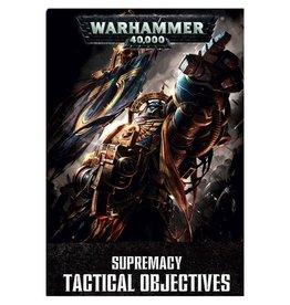 Games Workshop Wh40k:  Supremacy Tactical Objectives (EN)