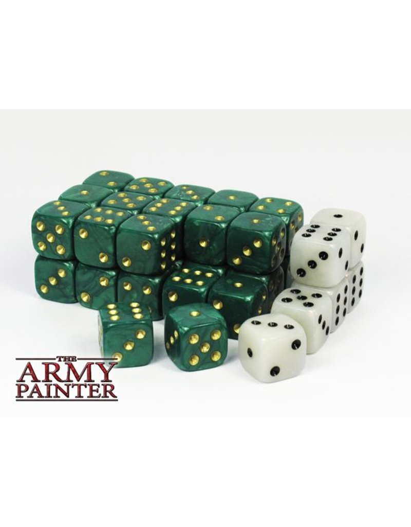 The Army Painter Wargamer Dice - Green – 14mm