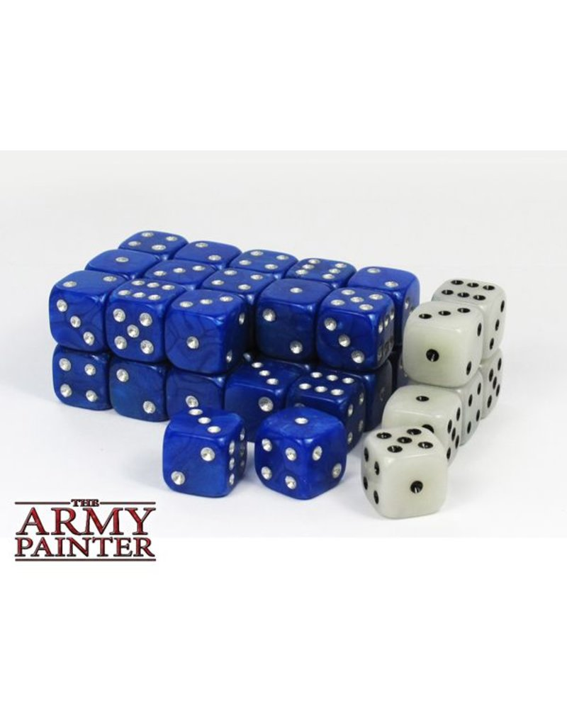 The Army Painter Wargamer Dice - Blue – 14mm