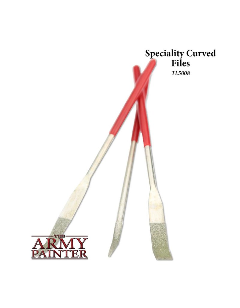 The Army Painter Tool - Speciality Curved Files